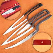 nesting kitchen knives river age stainless cutlery set