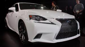 lexus 2014 white 2014 lexus is shows off at detroit auto show new 8 speed