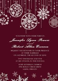christmas invitations fabulous sparkle wedding invitations for christmas and winter