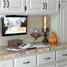 kitchen televisions under cabinet kitchen tv under cabinet mount best of kitchen cabinets hidden tv in