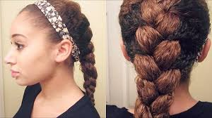 updos for curly hair i can do myself how to french braid curly hair youtube