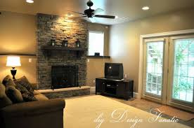 stone wall decor affordable fanciful fireplace stone wall tile