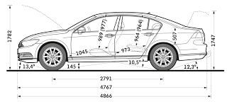 volkswagen vauxhall vw passat and estate sizes and dimensions guide carwow