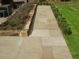 Done Deal Patio Slabs Raj Green Varied Depth Priceless Paving