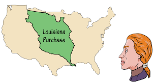 Louisiana Purchase Map by Thomas Jefferson Part 4 The Man Of The People President Podcast