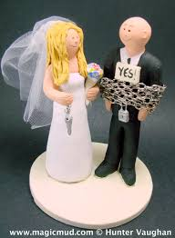 and chain cake topper drunken groom out wedding cake topper groom in kilt