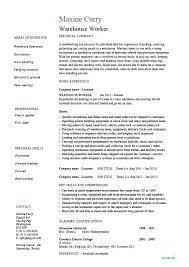 warehouse job description resume sample u2013 topshoppingnetwork com