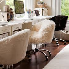Pottery Barn Mega Desk Ivory Furlicious Wingback Desk Chair Pbteen