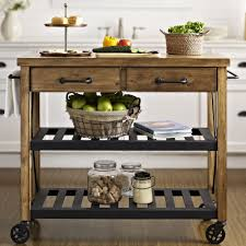kitchen island cart canada crosley roots rack kitchen cart with wood top reviews wayfair