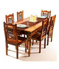 Indian Table L 16 Dining Table Set In India Dining Room Furniture Dining Tables