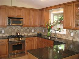 kitchen kitchen with black appliances honey oak cabinets what