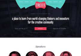 Creatively Designed by 20 Creative And Inspiring Event Websites Webdesigner Depot