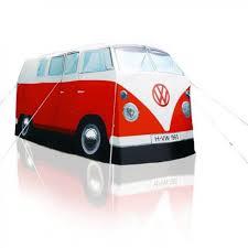 volkswagen camper vw campervan tent replica camper van shaped tent