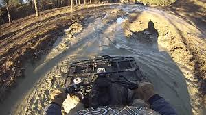 arctic cat 400 4x4 tbx in the mud youtube