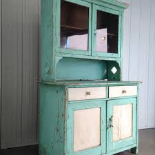 Kitchen Dresser Shabby Chic by Sale 20 Off Antique Belgium Turquoise From Elysianinteriors On