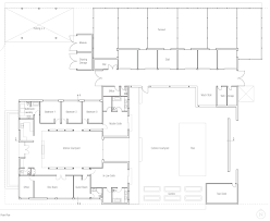 hacienda floor plans with courtyard northern hacienda