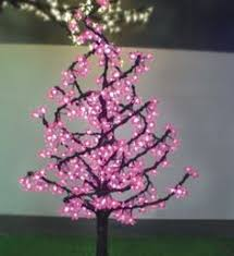lovely blinking led tree with butterflies ornaments