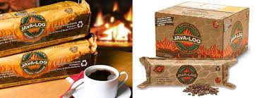 Scented Fireplace Logs by Java Log Recycled Coffee Grounds Fireplace Logs The Green Head