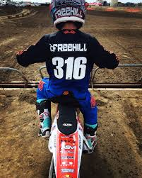 loretta lynn ama motocross fundraiser for chris freehill by ken wagner ty and nate race