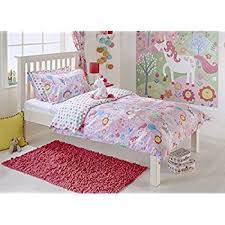 Unicorn Bed Set Unicorn Single Duvet Set 1 X Pillowcase Included Pink And