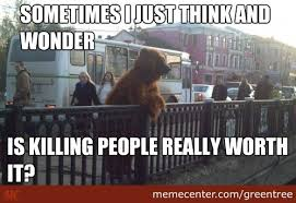 Thoughtful Memes - thoughtful bear by greentree meme center