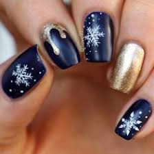 must try fall nail designs and ideas 2017 snowflake nail art