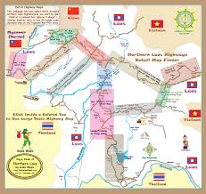 Map Of Laos North Laos Detail Highway Maps