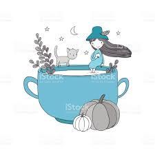 autumn theme halloween stock vector art 698273058 istock