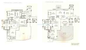 Penthouse Floor Plan by 5 Bhk 9800 Sq Ft Penthouse For Sale In Dlf The Magnolias At Rs