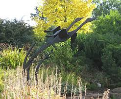 sculpture for gardens birds in flight welding ideas