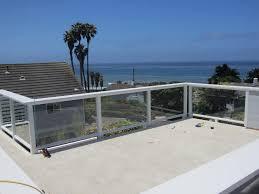redwood with glass deck railing glass deck railing ideas u2013 home