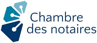 la chambre des notaires de logo de la profession notariale entracte