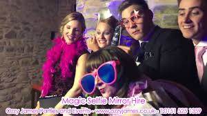 magic selfie mirror hire ozzy james parties u0026 events youtube