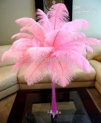prefect light pink ostrich feather 14 16inch35 40cm wedding