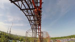 The Goliath Six Flags Six Flags Goliath Roller Coaster Take A Ride On A Record Breaker