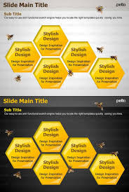 let your presentation pack a punch with this beehive themed