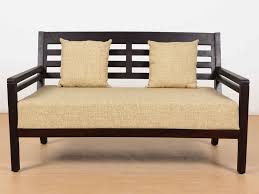 Sheesham Wood Furnitures In Bangalore Nelson Sheesham Two Seater Sofa By Urban Ladder Buy And Sell Used