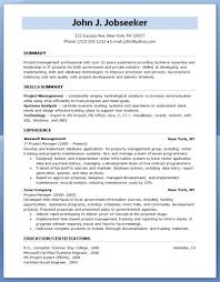 Pmp Resume Sample by Examples Of Resumes Free Sample Resume For Training And