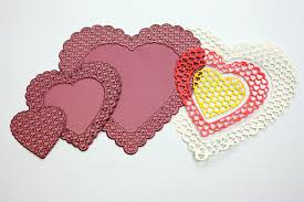 heart doily cheery designs doily die heart to heart