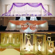 wedding chair sash party decoration organza fabric table top curtain wedding chair