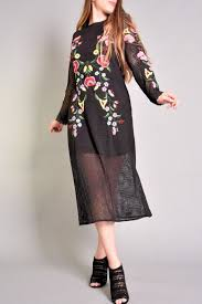 rene dhery rene derhy bastia embroidered dress from asheville by bohême