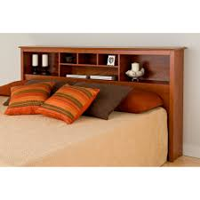 sauder orchard hills bookcase headboard furniture home white queen storage bed easton collection sea