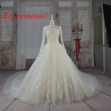 compare prices on designer wedding gowns sleeves online shopping