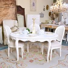 Shabby Chic Dining Room Shabby Chic Oval Dining Table Living Room Ideas