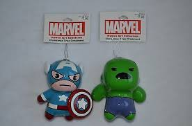 marvel hallmark kawaii collection tree ornaments