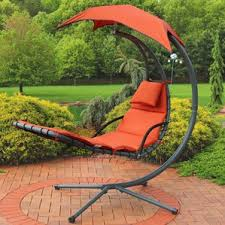 Hanging Chaise Lounge Chair Orange Outdoor Lounge Chairs You U0027ll Love Wayfair