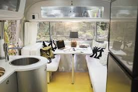 High Tech Home Office Photos Local Turns Airstream Into High Tech Office Space