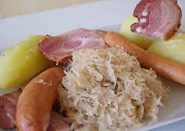 cuisiner choucroute choucroute recettes cookeo