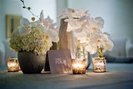 orchid centerpieces wedding reception decor white orchids centerpieces