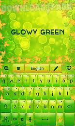 go keyboard apk file glowy green go keyboard theme android app free in apk